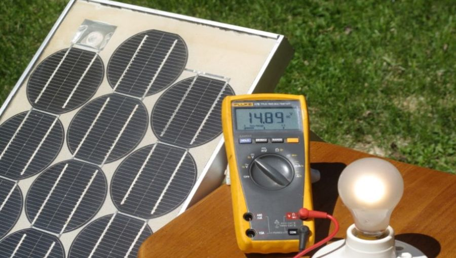 Study Of A 20 Years Old Solar Power Plant