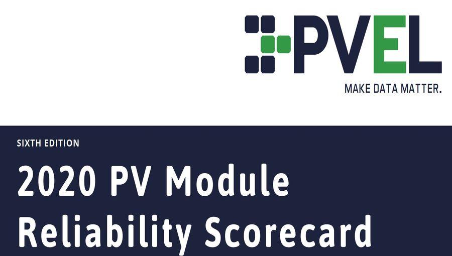 2020 PV Module Scoreboard By PVEL