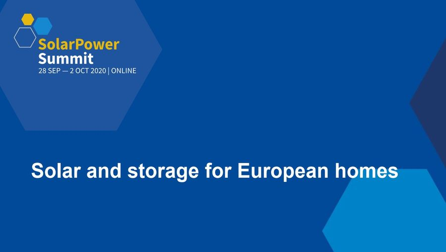 Solar And Storage For European Homes