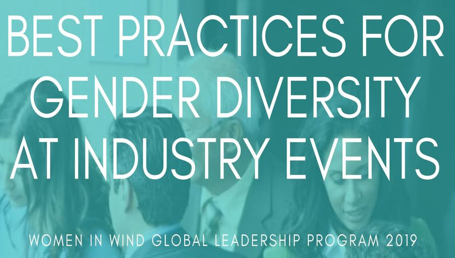 Best Practices For Gender Diversity At Industry Events by Women In Wind