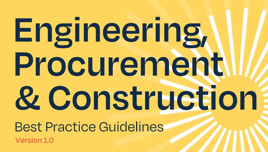 EPC: Engineering Construction Procurement, Best Practice Guidelines