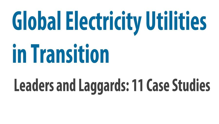 Global Electricity Utilities In Transition
