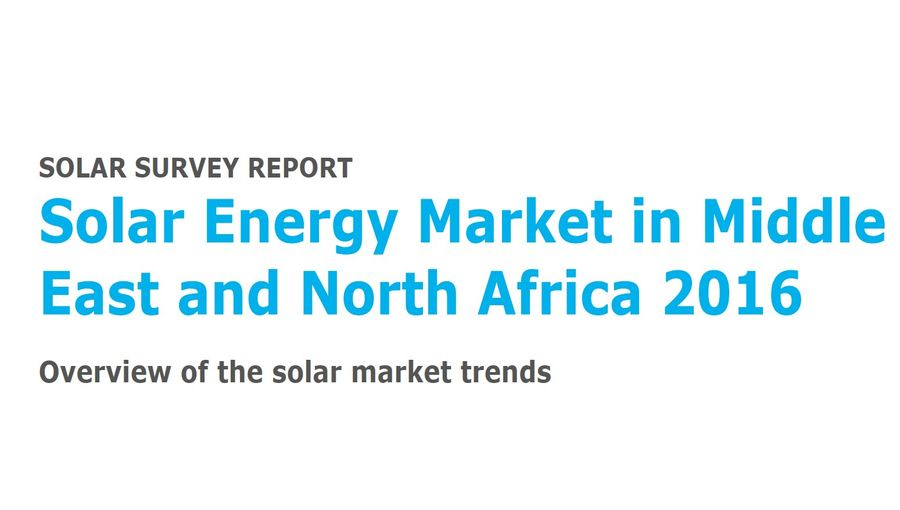 The Solar Energy Market In Middle East And North Africa