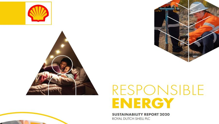 Sustainability Report 2020 by Shell