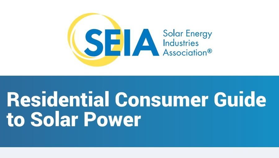 Residential Consumer Guide to Solar Power