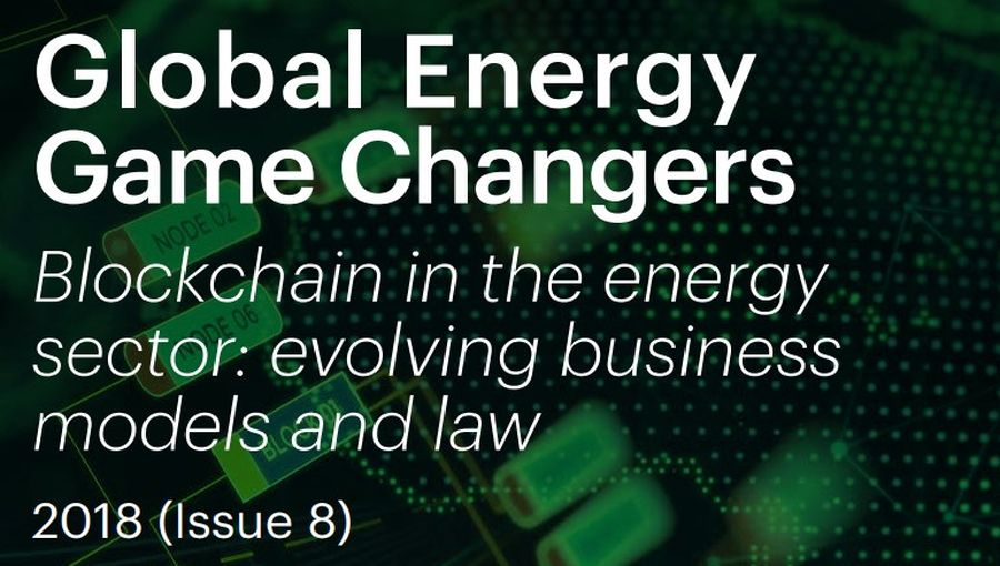 Blockchain In The Energy Sector-Evolving Business Models And Law