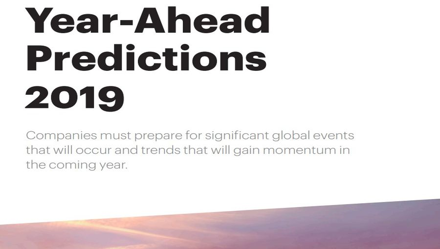 Year Ahead Predictions For 2019 by ATKearney