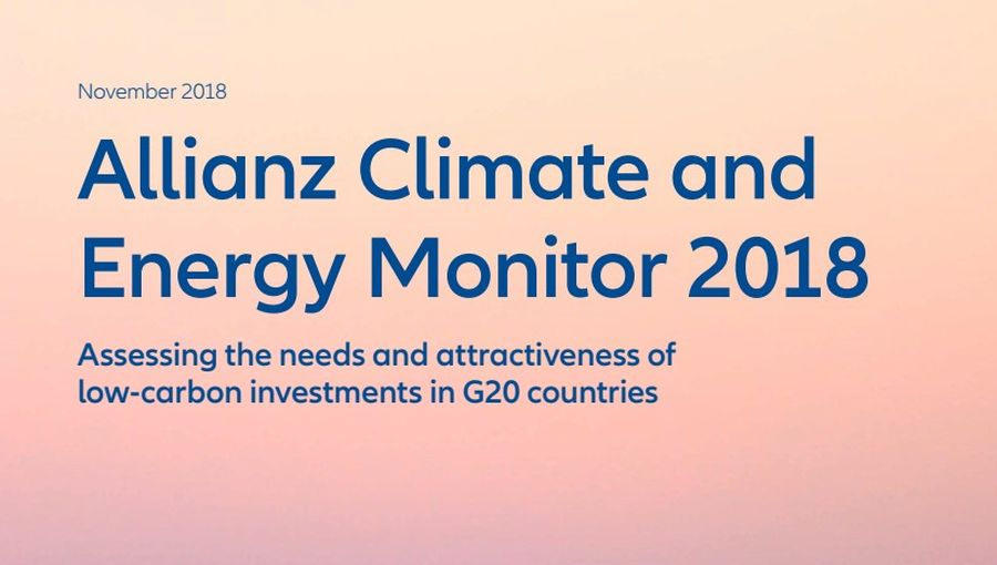 Allianz Climate and Energy Monitor 2018
