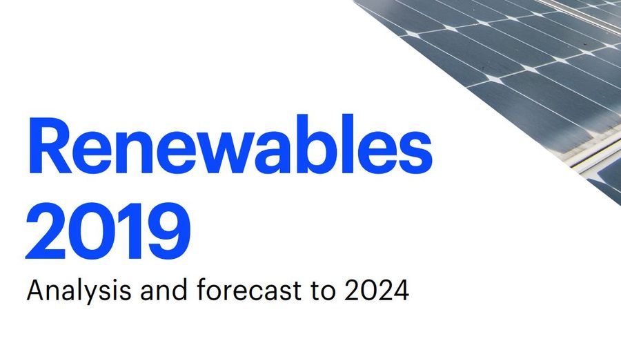 Rewables 2019 Analysis And Forecast To 2024