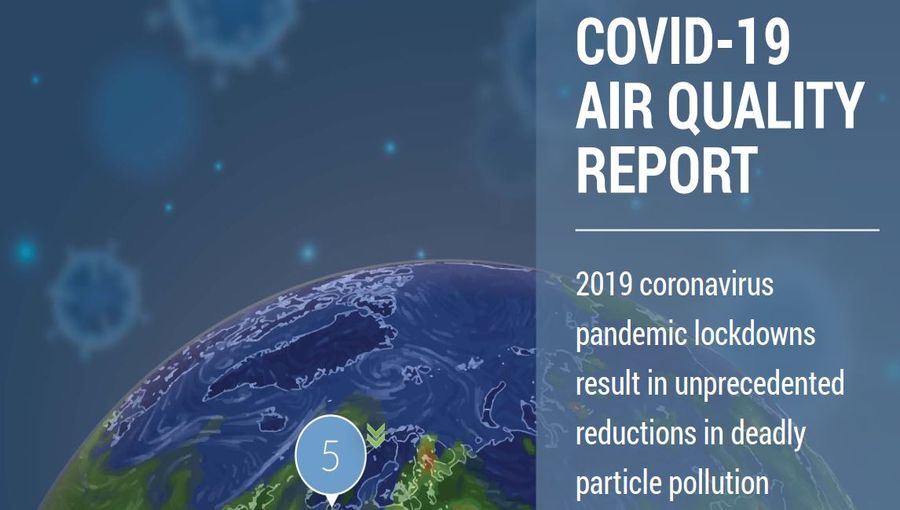 Covid19 Air Quality Report For Various Cities