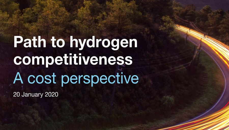 Path To Hydrogen Competitiveness:  A Cost Perspective