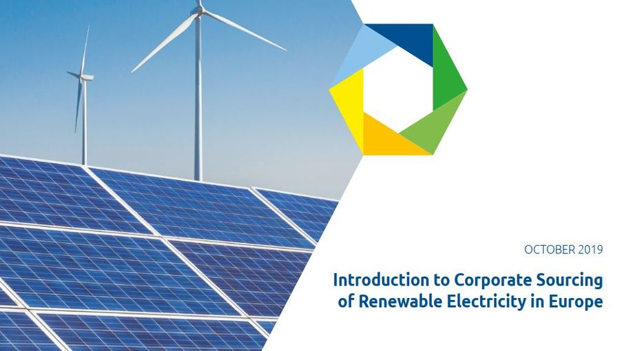 Introduction To Corporate Sourcing Of Renewable Electricity In Europe
