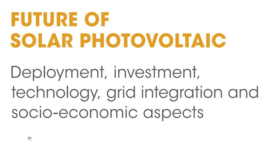 SOLAR: Deployment Investment Tchnology Grid integration And Socio-Economic Aspects
