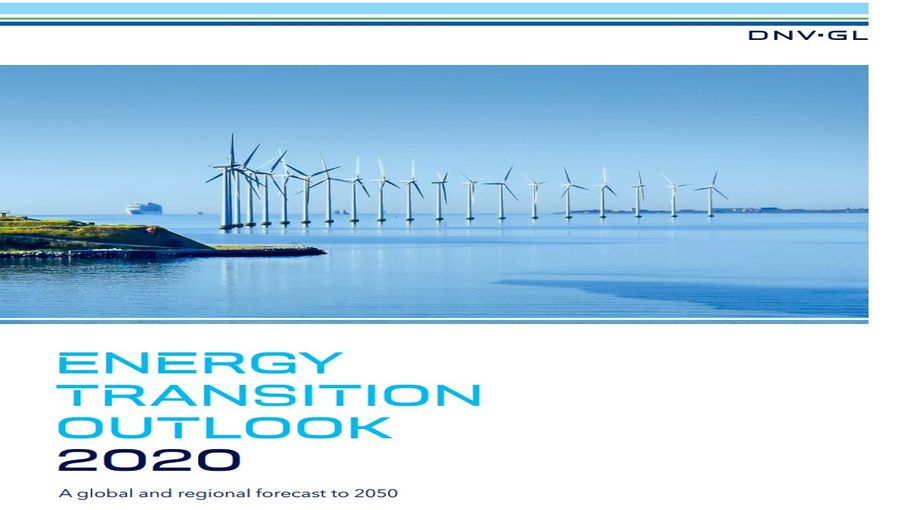 Energy Transition Outlook 2020 by DNV